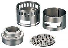 EVERNEW EBY255 Titanium alcohol stove stand DX set Japan import With Tracking