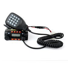 New Mobile Car Ham Radio Transceiver Walkie Talkie UHF/VHF200CH for Bus/Taxi+Mic