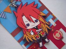 TALES OF THE ABYSS RUBBER STRAP LUKE HAPPI COAT VER. KOTOBUKIYA KEYCHAIN JAPAN