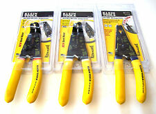 3pc KLEIN TOOLS ROMEX NM CABLE WIRE STRIPPER CUTTER PLIER SET USA ELECTRICAL