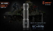 Jetbeam Niteye EC-R26 CREE XP-L 1080 Lumens USB Rechargeable Flashlight Inc Batt