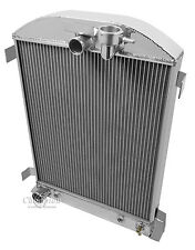 1932 Ford Street Rod 3 Row Radiator Hi-boy style ( Ford V8  Lower Driver Hose )