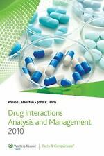 Drug Interactions Analysis and Management 2010 (Hansten, Drug Interactions Analy