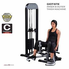2016 NEW Body Solid GIOT-STK Comfortable INNER & OUTER THIGH MACHINE | 210 lb.