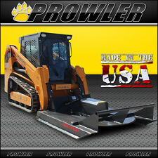 72 Inch Standard Duty Brush Mower, 11-20 GPM Flow, Skid Steer Cutter Attachment
