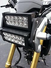 Honda Grom MSX125 Double LED Light Bar Headlight Conversion Kit 2014 2015 2016