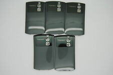 LOT of 5 BLACKBERRY CURVE 8300 8320 Grey Battery door cover used