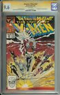UNCANNY X-MEN #227 SS CGC 9.6 SIGNED MARC SILVESTRI FALL OF THE MUTANTS