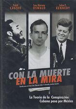 DVD - Con La Muerte En La Mira NEW John F. Kennedy FAST SHIPPING !