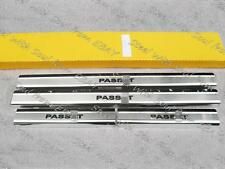 Door sill lining / Chrome cover / Scuff plate for VOLKSWAGEN PASSAT B6 2005—2009