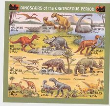 Maldives - Dinosaurs, Prehistoric Animals, 1994 - Sc 1969 Sht MNH - IMPERFORATE