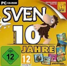 SVEN 10 JAHRE EDITION * 7 Sven Vollversionen * Top Zustand