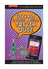 Lagoon Games Q Whizz Book Utterly Gross And Silly Trivia Quiz Book & App Gift