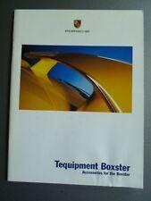 2002 Porsche Boxster Tequipment Accessories Brochure RARE!! Awesome L@@K