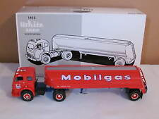 New In Box First Gear 1953 White 3000 Tractor & Tank Trailer Mobilgas Co. !!