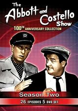 The Abbott & Costello Show Season 2: 100th Anniversary - NEW 5 DVD Set RARE