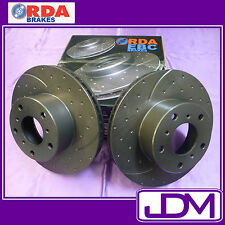 HOLDEN HD, HR (1965-1967) - RDA FRONT SLOTTED Disc Rotors