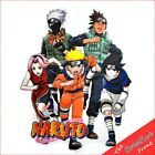 NARUTΟ & FRIENDS - IRON ON T-SHIRT HEAT TRANSFERS - FREE P&P