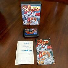 MUSHA ALESTE *Sega Mega Drive JAPAN IMPORT* COMPLETE CIB GAME, U.S. SELLER!!