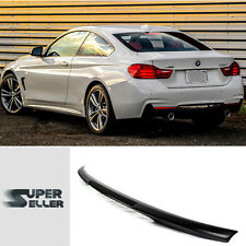 BMW F32 4-Series Coupe 420d 428i Unpaint M4 Look Trunk Spoiler New 14+