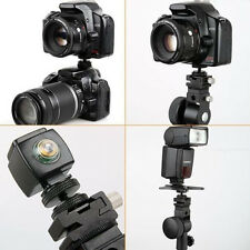 "Durable POP 3/8"" Tripod Mount Screw to Flash Hot Shoe Adapter Camera Stand EW"
