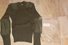 Military Surplus, Marine Corps, Wool, Wooly Pully Sweater, OD Green, New XS 34