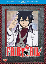 Fairy Tail: Part 12 (Blu-ray/DVD Combo, NEW, 2014, 4-Disc Set, 11 Episodes)