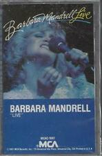 BARBARA MANDRELL LIVE I Was Country with George Jones Years  NEW CASSETTE