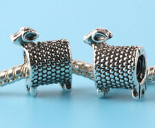 Fashion 2pcs Tibetan silver Spacer beads fit European Bracelet Chain A#197