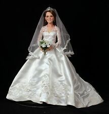 Princess Catherine Royal Elegance Bride Doll Ashton Drake
