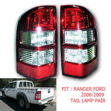 FIT 2007-2009 FORD RANGER Thunder UTE PICKUP truck TAIL LAMP LIGHTS REAR RED 2PC