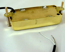 CLASSIC VINTAGE TONE GOLD MINI HUMBUCKER GUITAR PICKUP