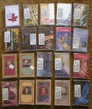 Wholesale Lot of 20 Music Cassette Tapes ~ Jazz, Classical, New Age, etc...  New
