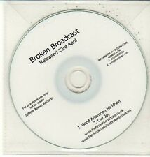 (DC825) Broken Broadcast, Good Afternoon Mr Moon - DJ CD