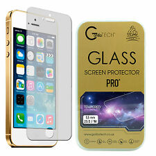 100% Genuine Gorilla TEMPERED GLASS Screen Protector for Apple iPhone 5S 5C 5 SE