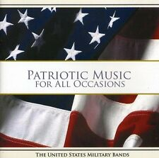 Patriotic Music For All Occasions - U.S. Military Bands (2008, CD NEUF)