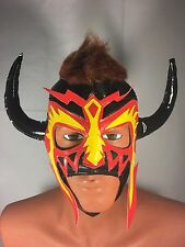 PSICOSIS WRESTLING LUCHADOR MASK! COOL DESIGN! GREAT ITEM! GREAT HANDMADE MASK!!