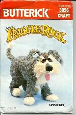 Fraggle Rock SPROCKET Toy Jim Henson Uncut 1986 Butterick Sewing Pattern 3856