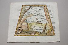 Ukraine Georgia Russia Sarmatia rare map Ptolemy 1535