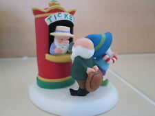 Department 56 North Pole Christmas Village Show Movie Ticket Booth figurine