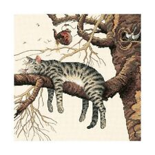 """""""Too Pooped Counted Cross Stitch Kit-11""""""""X11"""""""" 14 Count"""""""