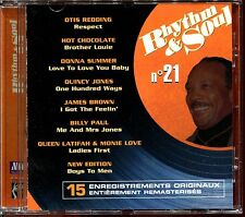 RHYTHM & SOUL N°21 - DISCO FUNK BLACK MUSIC MOTOWN - CD COMPILATION [571]