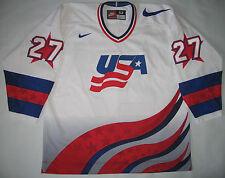 Vintage Rare Jeremy Roenick Team USA Hockey Nike Jersey size 52