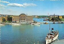 B83692 stockholm the harbour and the nationalmmuseum ship sweden