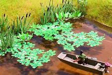 Noch 14114 HO L-C Seerosen (LASER CUT minis Pflanzen)  #NEU in OVP#