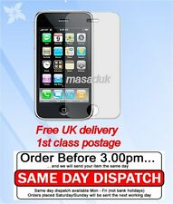 Protector De Pantalla Lcd Para Iphone 3gs Film Ultra Clear primera clase Royal Mail