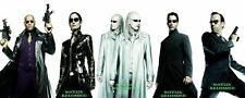 POSTER MATRIX RELOADED REVOLUTIONS NEO KEANU REEVES LAURENCE FISHBURNE FOTO #5