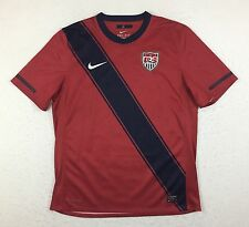 Nike Dri-Fit USMNT USA US 2010/12 Soccer Football Red Third Jersey Men's Large L