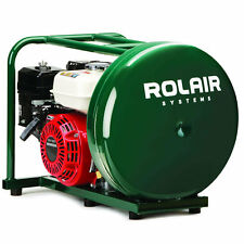 Rolair 118cc 4.5-Gallon Contractor Pancake Gas Powered Air Compressor