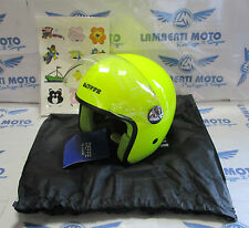 CASCO DIEFFE DA BAMBINO MOD. JUNIOR COPTER GIALLO (SHINY YELLOW) TG. M (YM)
